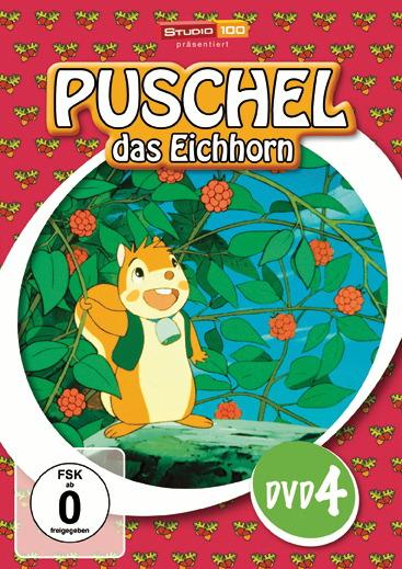 Puschel, das Eichhorn, DVD 4 Poster