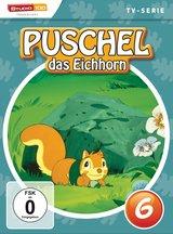 Puschel, das Eichhorn, DVD 6 Poster