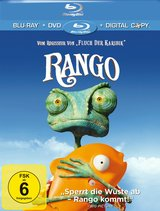 Rango (+ DVD, inkl. Digital Copy) Poster