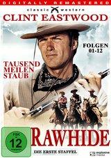 Rawhide - Tausend Meilen Staub, Staffel 1, Teil 1, Folgen 01-12 (Digitally Remastered, 3 Discs) Poster