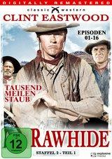Rawhide - Tausend Meilen Staub, Staffel 2, Teil 1, Episoden 01-16 (4 Discs) Poster