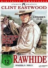 Rawhide - Tausend Meilen Staub, Staffel 2, Teil 2, Episoden 17-31 (4 Discs) Poster
