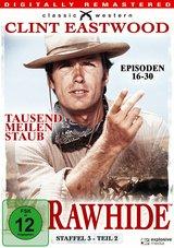 Rawhide - Tausend Meilen Staub, Staffel 3, Teil 2, Episoden 16-30 (4 Discs) Poster