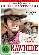Rawhide - Tausend Meilen Staub, Staffel 4, Teil 1 (4 Discs) Poster