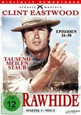 Rawhide - Tausend Meilen Staub, Staffel 4, Teil 2 (4 Discs) Poster