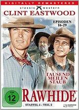 Rawhide - Tausend Meilen Staub, Staffel 5, Teil 2 Poster