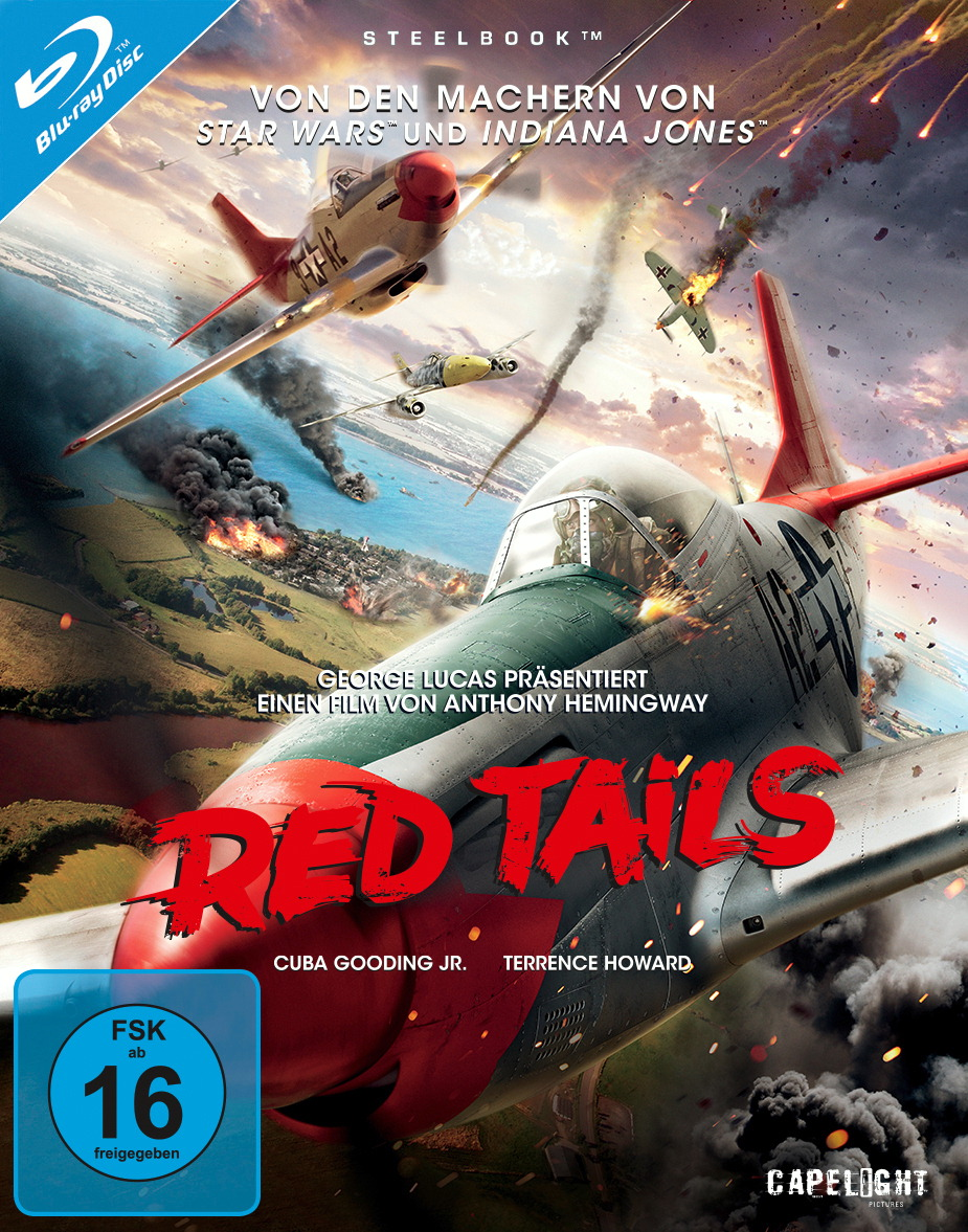Red Tails (Limited Steelbook Edition) Poster