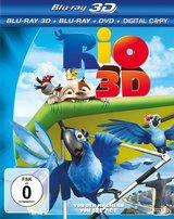 Rio (Blu-ray 3D, Blu-ray 2D, + DVD, inkl. Digital Copy) Poster