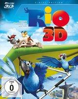 Rio (Blu-ray 3D, + Blu-ray 2D) Poster
