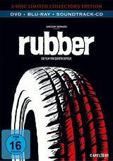Rubber (Limited Edition, + DVD, + Audio-CD) Poster