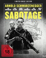 Sabotage (Limited Uncut Edition, Steelbook) Poster