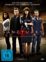 Sanctuary - Staffel 02 Poster