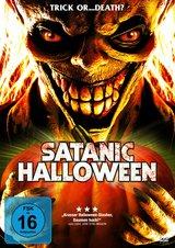 Satanic Halloween Poster