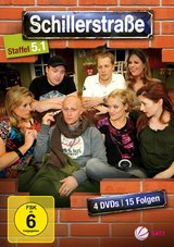 Schillerstraße - Staffel 5, Teil 1 (4 Discs) Poster