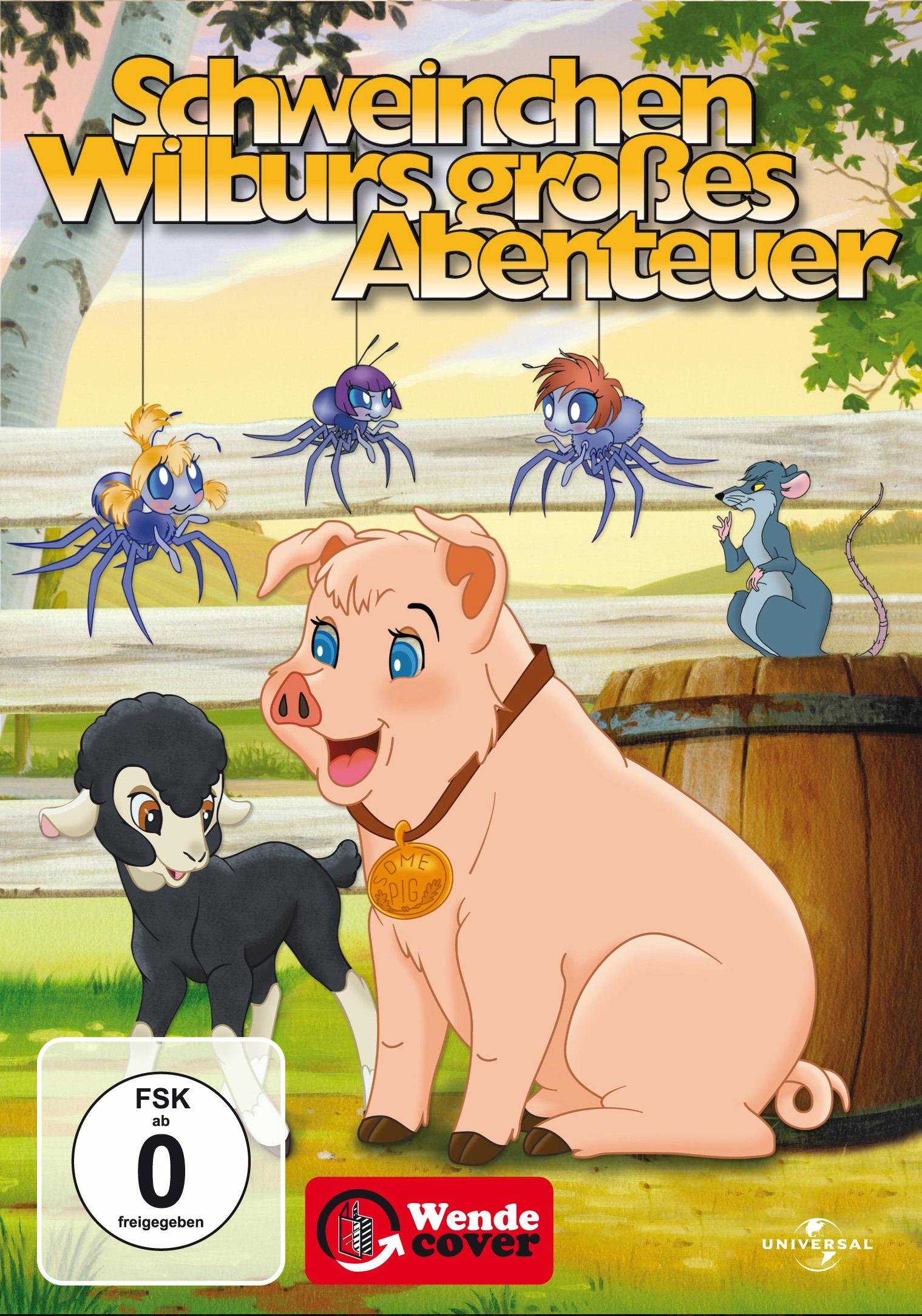 Schweinchen Wilburs großes Abenteuer Poster
