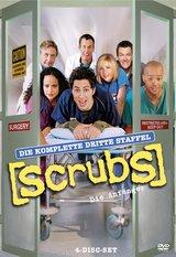 Scrubs: Die Anfänger - Die komplette dritte Staffel (4 DVDs) Poster