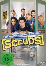 Scrubs: Die Anfänger - Die komplette dritte Staffel (4 Discs) Poster