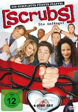 Scrubs: Die Anfänger - Die komplette fünfte Staffel (4 Discs) Poster