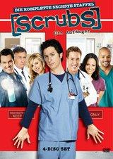 Scrubs: Die Anfänger - Die komplette sechste Staffel (4 DVDs) Poster