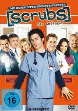 Scrubs: Die Anfänger - Die komplette sechste Staffel (4 Discs) Poster