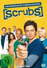 Scrubs: Die Anfänger - Die komplette vierte Staffel (4 Discs) Poster