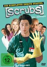 Scrubs: Die Anfänger - Die komplette zweite Staffel (4 Discs) Poster