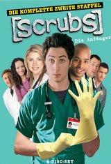 Scrubs: Die Anfänger - Die komplette zweite Staffel (4 DVDs) Poster