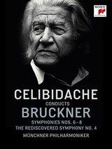 Sergiu Celibidache - Celibidache Conducts Bruckner (3 Discs + Audio-CDs) Poster