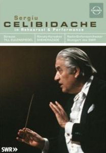 Sergiu Celibidache - In Rehersal and Performance Poster