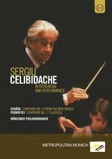 Sergiu Celibidache - In Rehersal and Preformance Poster