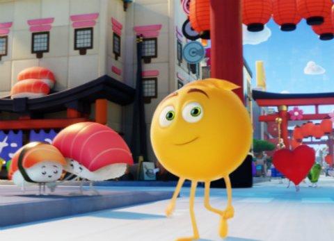 "Szene aus dem Animationsfilm ""Emoji - Der Film"" © Sony"