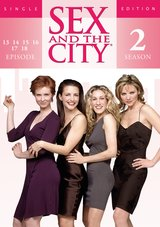 Sex and the City - Season 2, Episode 13-18 (Einzel-DVD) Poster