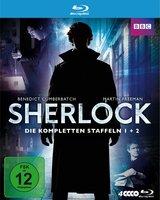 Sherlock - Die kompletten Staffeln 1 + 2 (4 Discs) Poster