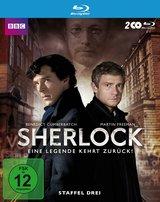 Sherlock - Staffel 3 (2 Discs) Poster