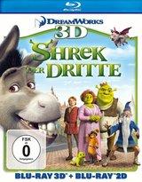 Shrek der Dritte (Blu-ray 3D, + Blu-ray 2D) Poster