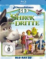 Shrek der Dritte (Blu-ray 3D) Poster