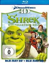 Shrek - Der tollkühne Held (Blu-ray 3D, + Blu-ray 2D) Poster
