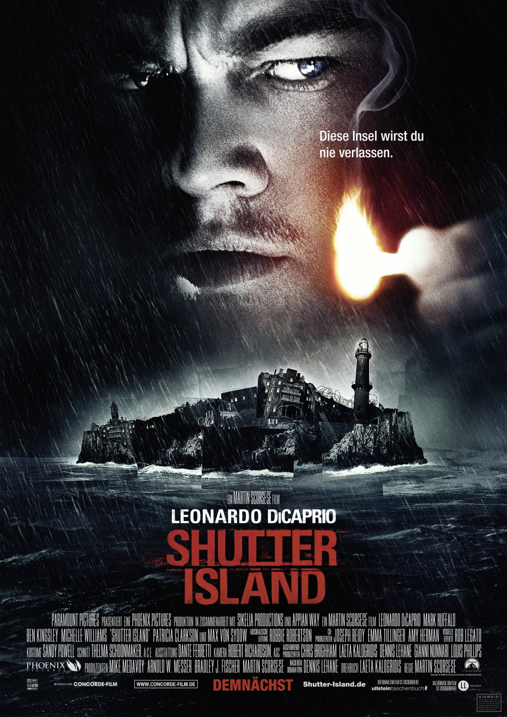 Shutter Island (Limited Edition, Steelbook) Poster
