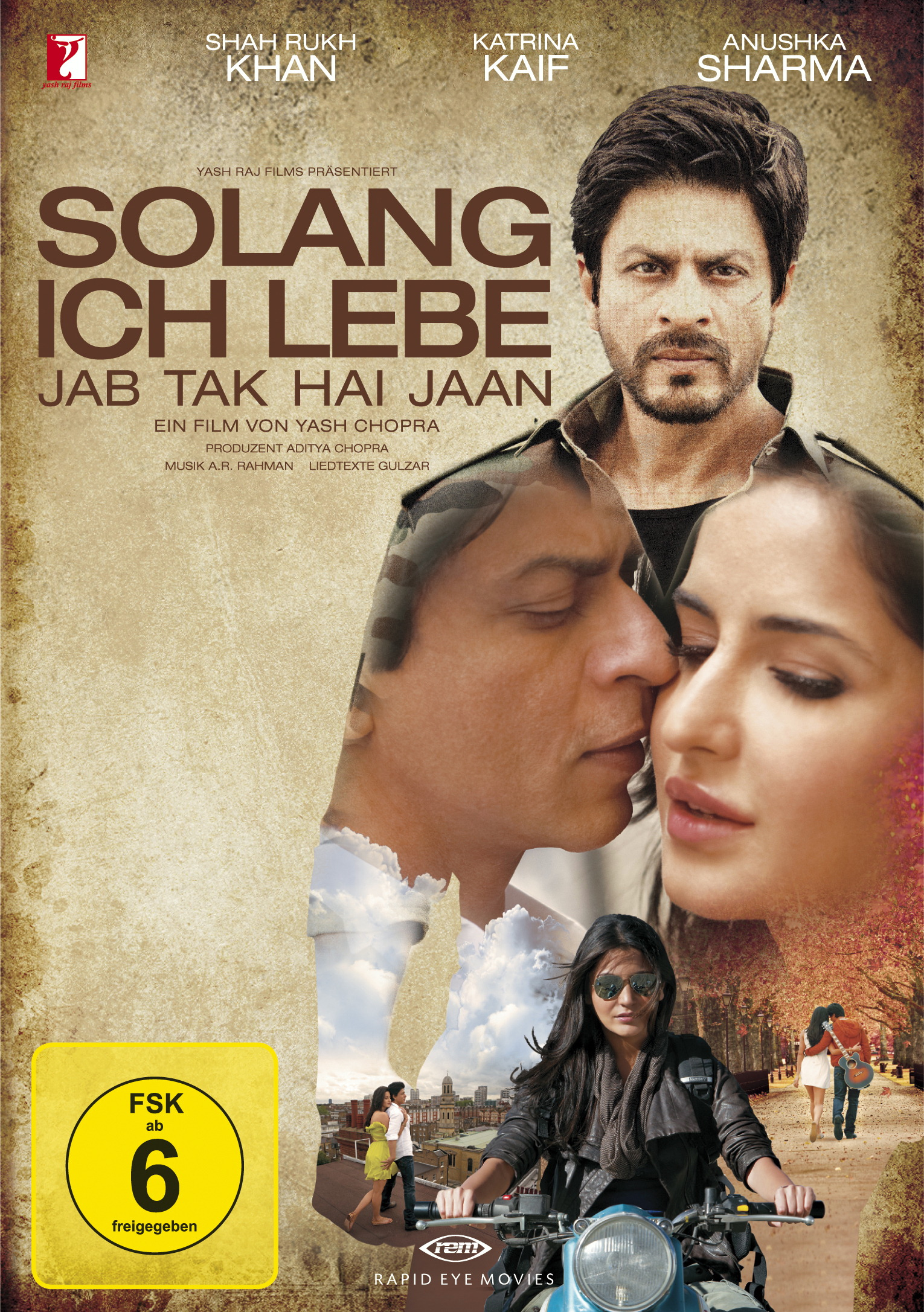 Solang ich lebe - Jab Tak Hai Jaan (2 Discs) Poster