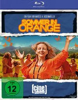 Sommer in Orange Poster
