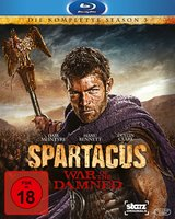 Spartacus: War of the Damned (4 Discs, Uncut) Poster