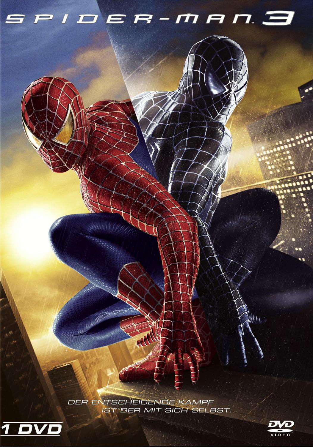 Spider-Man 3 (Einzel-DVD) Poster