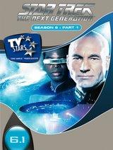 Star Trek - The Next Generation: Season 6, Part 1 (3 DVDs) Poster