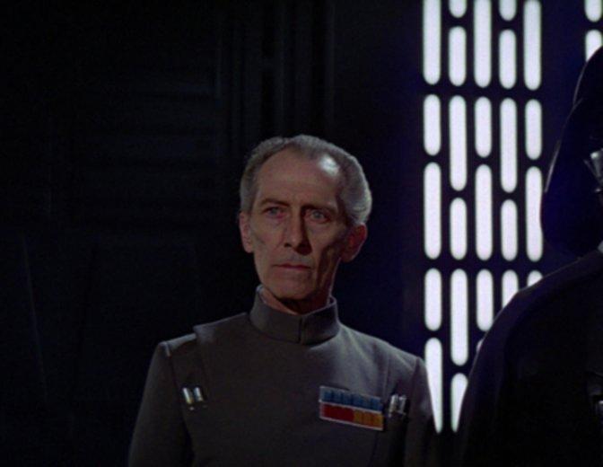 """Tarkin (Peter Cushing) wurde für """"Rogue One"""" per CGI zum Leben erweckt © """"0th Century Fox"""
