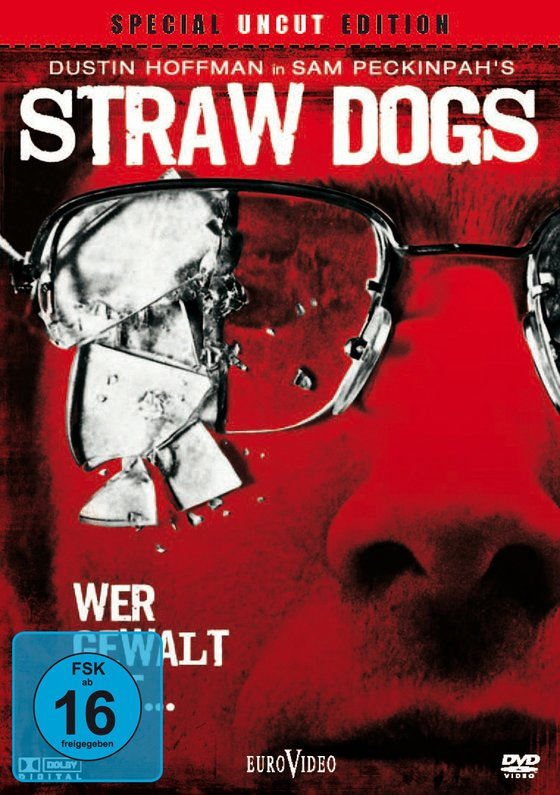 Straw Dogs - Wer Gewalt sät... (Special Uncut Edition, 2 DVDs) Kaufvideo-Cover