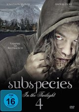 Subspecies 4 - In the Twilight Poster