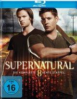 Supernatural - Die komplette achte Staffel (4 Discs) Poster