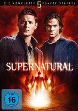 Supernatural - Die komplette fünfte Staffel (7 Discs) Poster