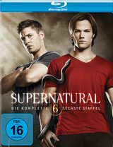 Supernatural - Die komplette sechste Staffel (4 Discs) Poster