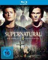 Supernatural - Die komplette vierte Staffel (4 Discs) Poster